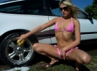 Kayla Kandy Gets Hot In Car Wash Video