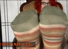 [Image: Sock Foot Fetish tease video 5 min]