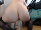 dildo ride from behind