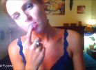 [Image: Finger Sucking and Smoking Jerk Off Instruction]