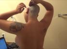 Shaving My Head on Webcam