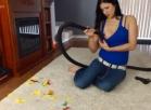 Vacuuming Various Body Parts and Popped Balloons 1080p HD