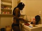 [Image: cooking frenchy maid bikini]