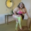 [Image: 35 High def photos of me in sexy Garter belt sheer skirt]