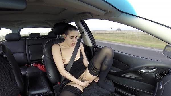 public masturb car
