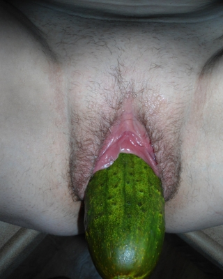 Vegetables in my pussy