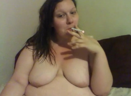fat girl naked smoking pics