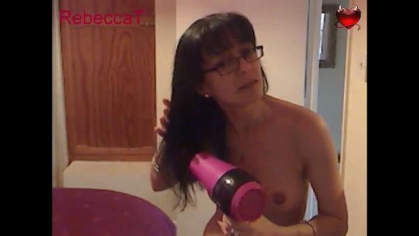 Its masturbation drying hair very